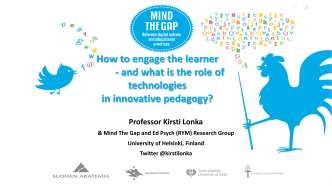 How to engage the learner - and what is the role of - Helsinki.fi