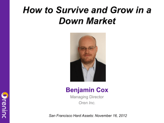 How to Survive and Grow in a Down Market - MailChimp