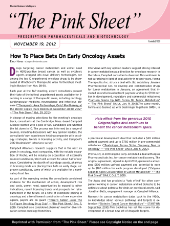 How To Place Bets On Early Oncology Assets - MEI Pharma