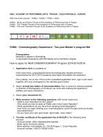 How to apply_2014 - FAMU