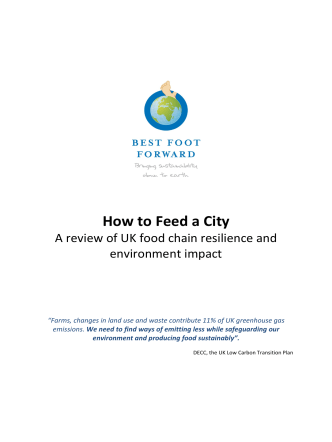 How to Feed a City - LandShare