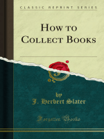 How to Collect Books - Forgotten Books
