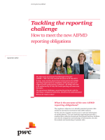 Tackling the reporting challenge - How to meet the new - PwC