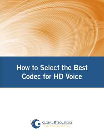 How to Select the Best Codec for HD Voice - ramos on-line usm