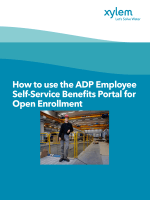 How to use the ADP Employee Self-Service Benefits Portal for Open