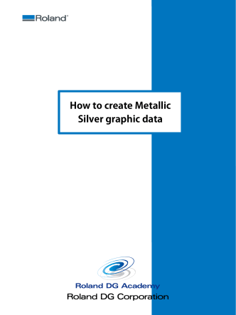 How to create Metallic Silver graphic data - AVS