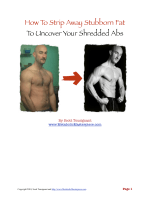 How To Strip Away Stubborn Fat To Uncover Your Shredded Abs