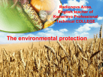 The environmental protection